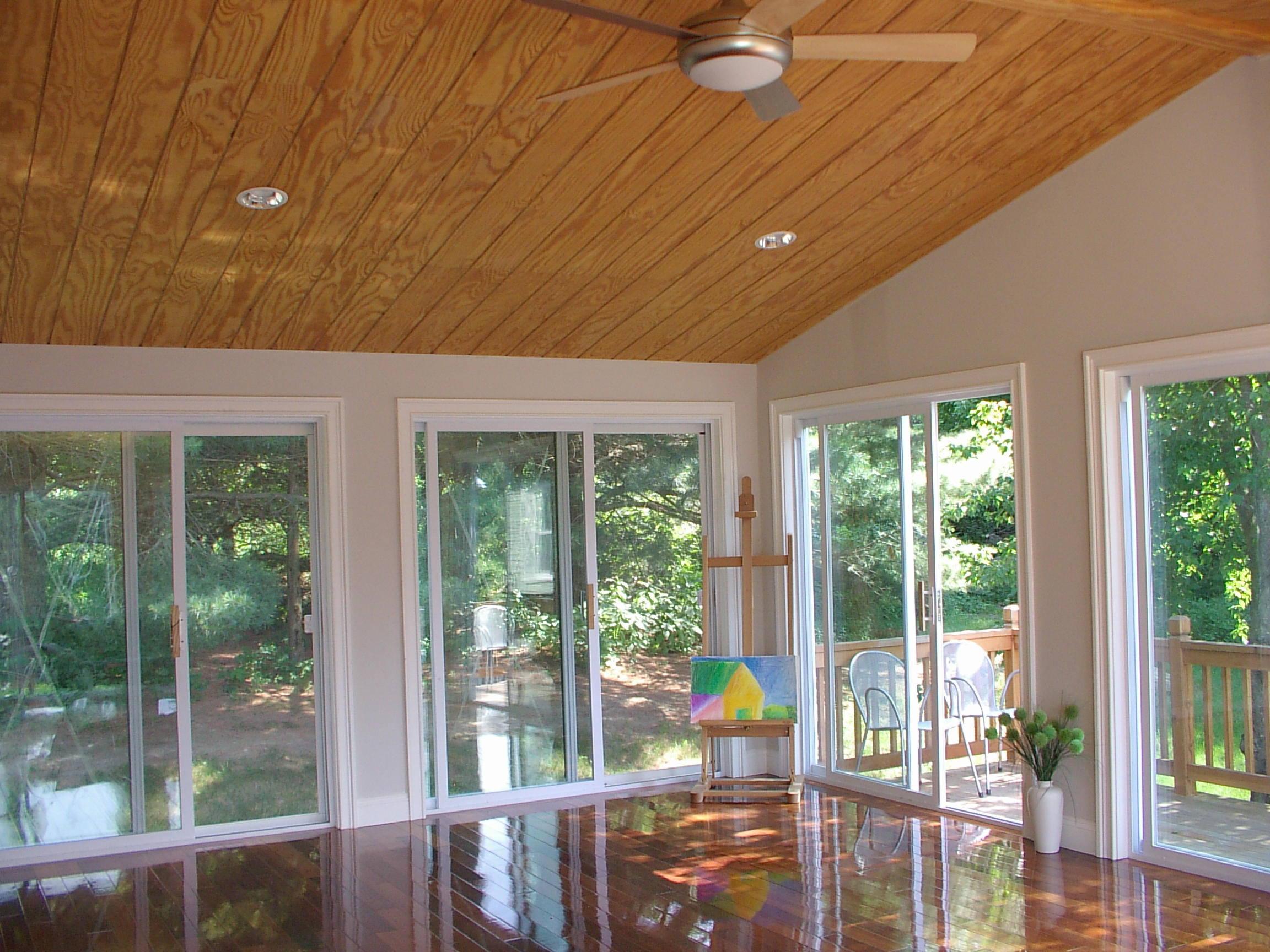 porch makeover most real enclosed life makeovers spectacular